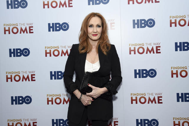 """JK Rowling attends the HBO Documentary Films premiere of """"Finding the Way Home"""" at 30 Hudson Yards in 2019 in New York (Evan Agostini/Invision/AP)"""
