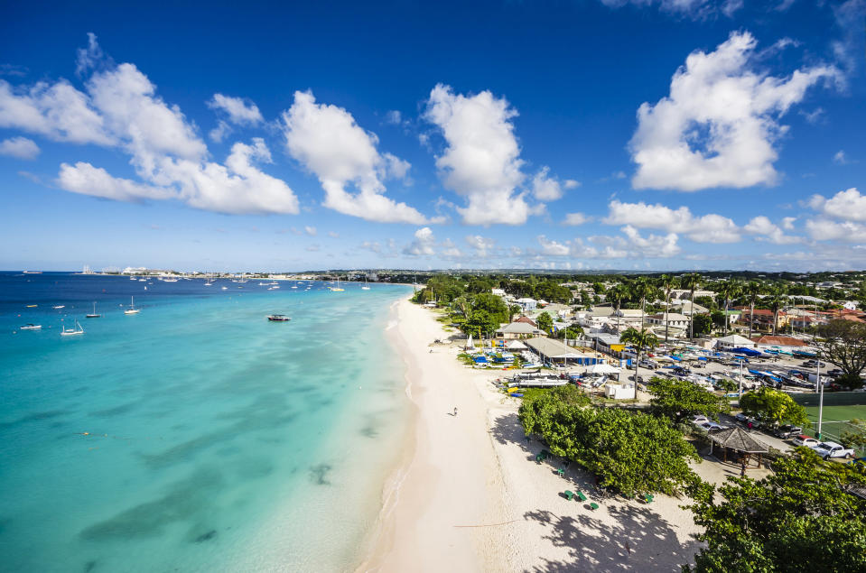 """Barbados has <a href=""""https://bb.usembassy.gov/u-s-citizen-services/covid-19-information/"""" rel=""""nofollow noopener"""" target=""""_blank"""" data-ylk=""""slk:98 confirmed COVID-19 cases"""" class=""""link rapid-noclick-resp"""">98 confirmed COVID-19 cases</a> and recently lifted some of its restrictions for social-distancing. (Photo: Getty)"""