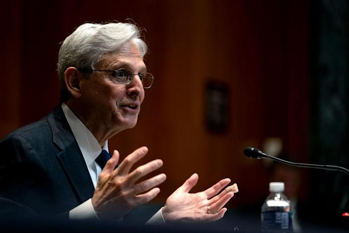 Attorney General Garland Testifies On Proposed Budget Before Senate Committee