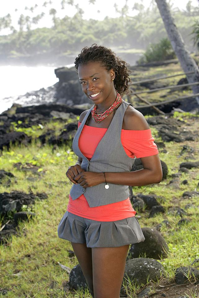 """Yasmin Giles, a hairstylist from Sherman Oaks, CA, is one of the 20 castaways set to compete in <a href=""""/survivor-samoa/show/44430"""">""""Survivor: Samoa.""""</a>"""