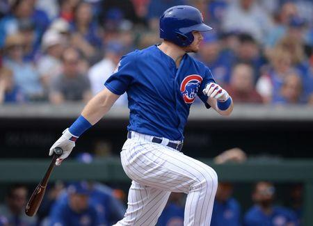 MLB: Spring Training-Colorado Rockies at Chicago Cubs