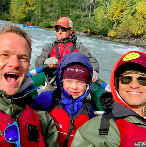 "<p>""Can't stop thinking about our Alaskan adventure,"" NPH captioned this vacation action shot with his son Gideon, and husband, David Burtka. ""Thanks @withinthewild for providing memories that will last lifetimes. Truly a spectacular place!"" (Photo: <a href=""https://www.instagram.com/p/BYpAokQhjYP/?taken-by=nph"" rel=""nofollow noopener"" target=""_blank"" data-ylk=""slk:Neil Patrick Harris via Instagram"" class=""link rapid-noclick-resp"">Neil Patrick Harris via Instagram</a>) </p>"