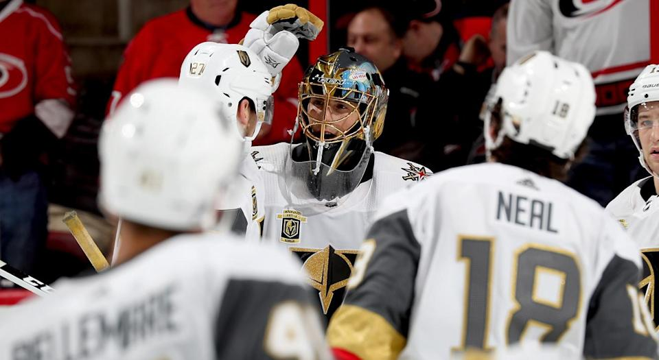The Vegas Golden Knights are playing like the best team in the NHL. (Photo by Gregg Forwerck/NHLI via Getty Images)