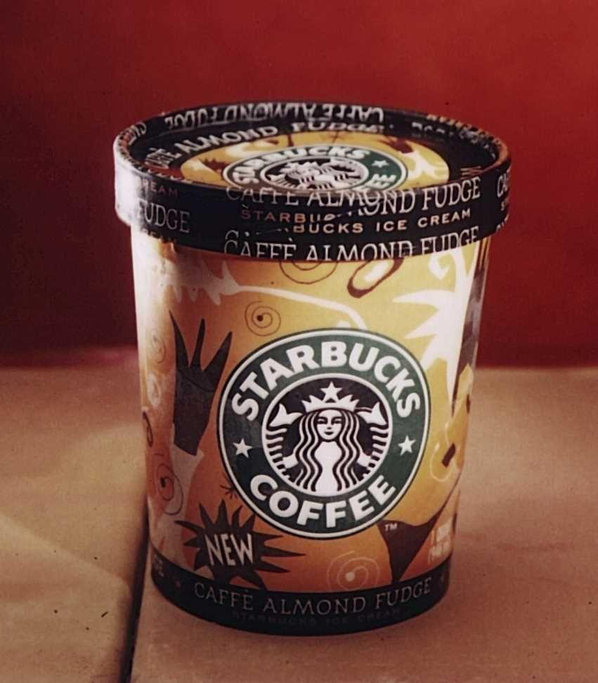 <p>By 1996, the coffee company began dipping its toe into a diverse range of products, including Starbucks branded ice cream. </p>