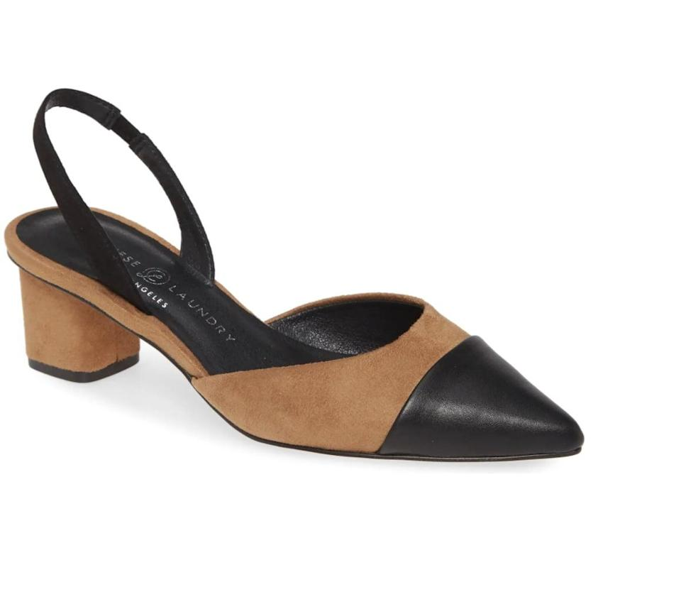 <p>These cute <span>Chinese Laundry Cabella Slingback Pump</span> ($50, originally $70) look so polished, and they go with both jeans and dresses.</p>