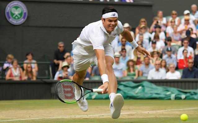 <span>Raonic is given the runaround by Federer</span>