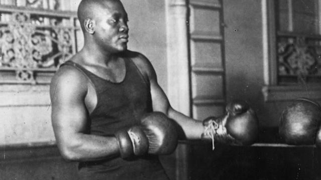 President Trump has posthumously pardoned Jack Johnson, boxing's first black heavyweight champion.