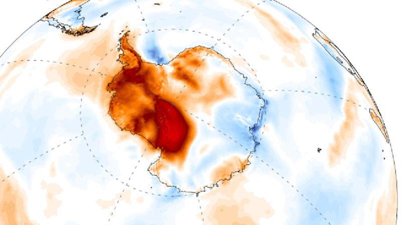Antarctica may have just seen the continent's hottest day on record