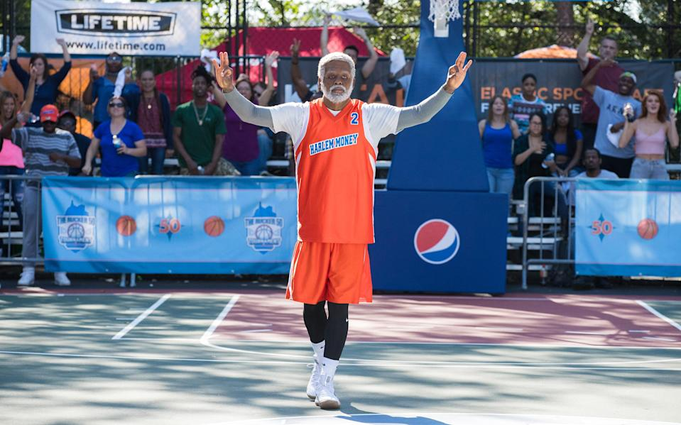 The basketball star is making his big screen debut in Uncle Drew.