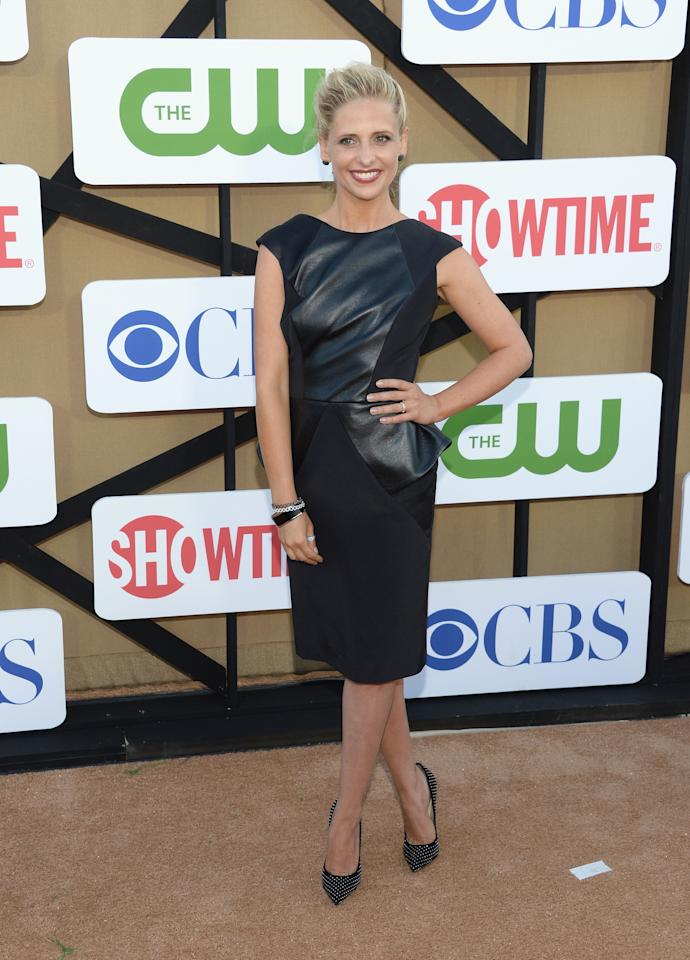 LOS ANGELES, CA - JULY 29: Sarah Michelle Gellar attends the CW, CBS And Showtime 2013 Summer TCA Party on July 29, 2013 in Los Angeles, California. (Photo by Jason Kempin/Getty Images)