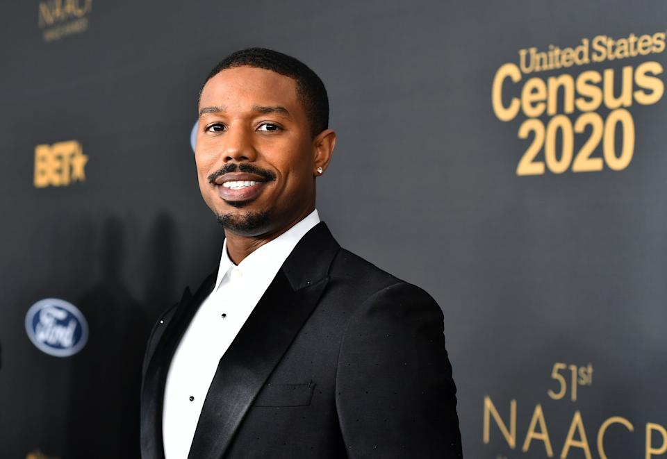 PASADENA, CALIFORNIA - FEBRUARY 22: Michael B. Jordan attends the 51st NAACP Image Awards, Presented by BET, at Pasadena Civic Auditorium on February 22, 2020 in Pasadena, California. (Photo by Paras Griffin/Getty Images for BET)
