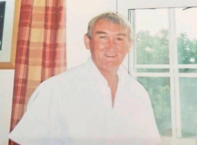 Melvin Christopher Murphy died after being struck when he was returning home from the pub (Picture: SWNS)