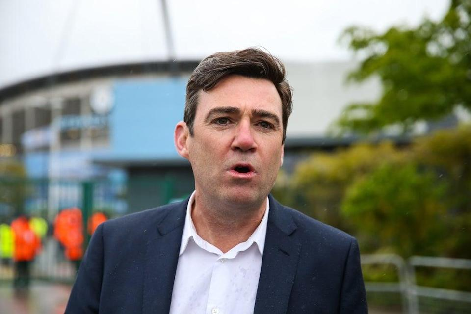 Andy Burnham, Mayor of Greater Manchester, has backed Fair Game's manifesto (PA Wire)