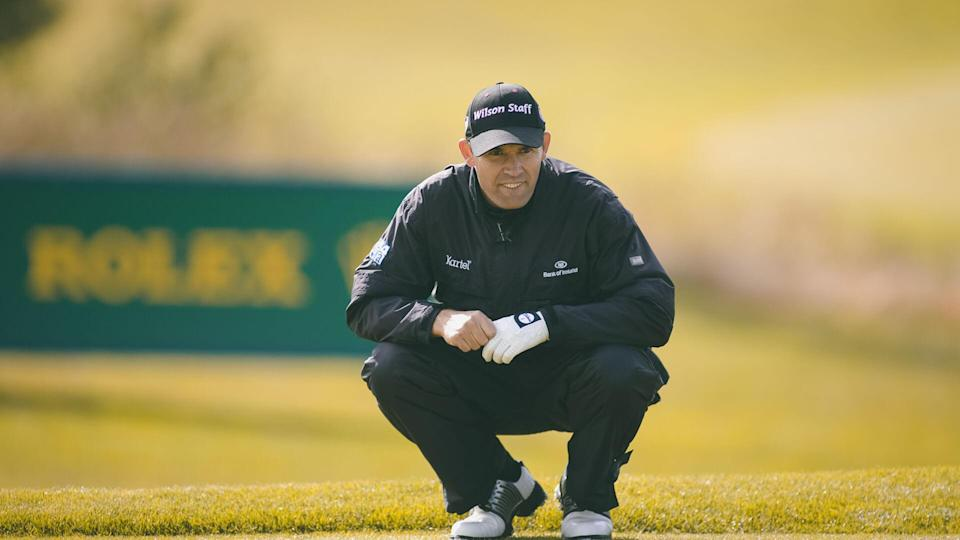 <p>Irish golfer Pádraig Harrington turned pro in 1995 but didn't join the PGA Tour until a full decade later in 2005. He's won six Tour victories, exactly half of which were majors. He won the Open Championship in 2007. The next year in 2008, he won it again and also won the PGA Championship.</p>