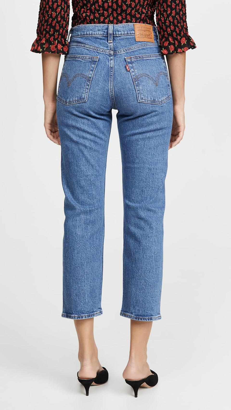 <p>These <span>Levi's Wedgie Straight Jeans</span> ($98, plus use code FALL20) are classics.</p>