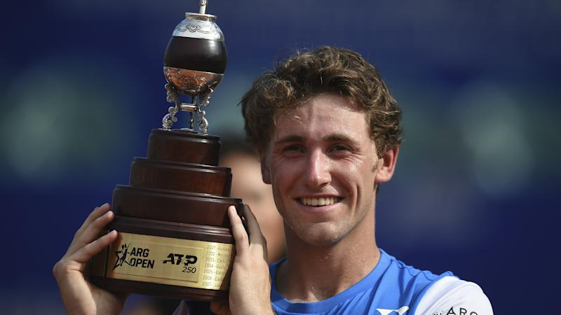 Ruud makes history with Argentina Open title