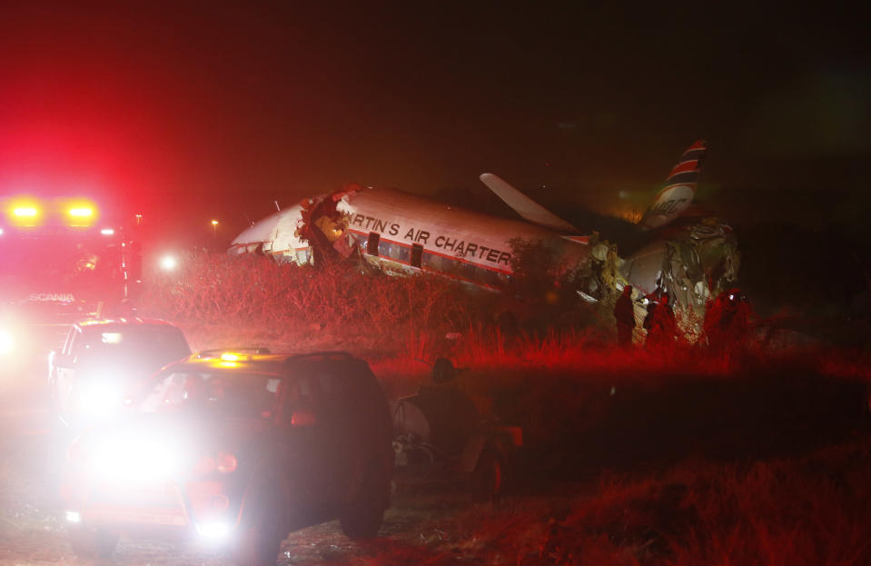 The plane crashed in a dairy field shortly after take off from Wonderboom Airport. Source: Getty Images