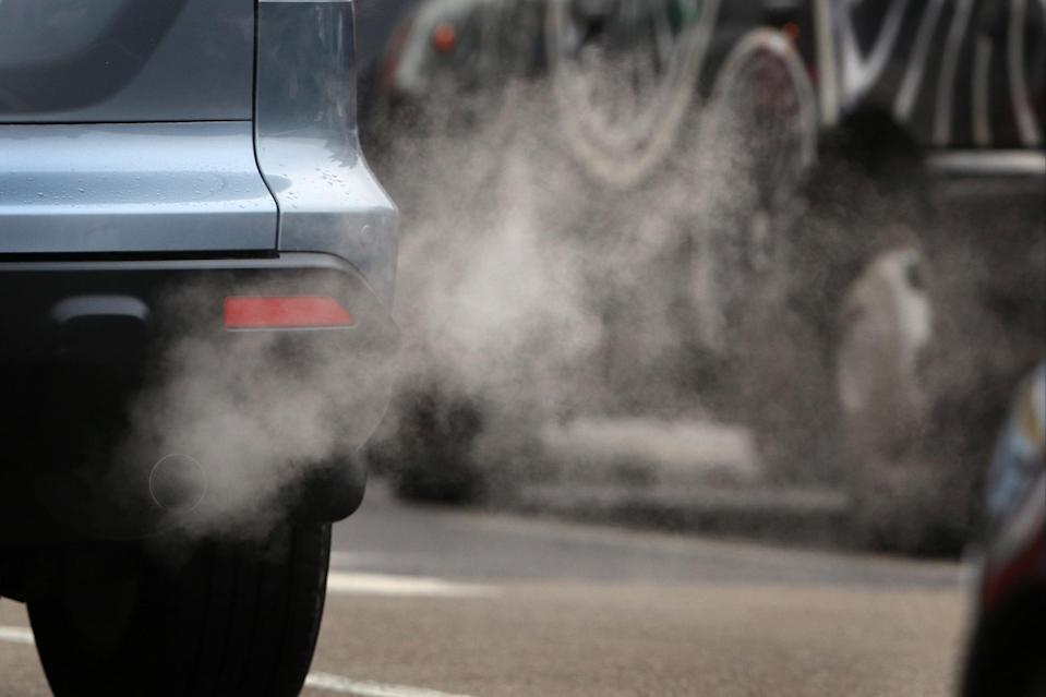 Low traffic neighbourhoods have been set up to try and reduce air pollutionGetty Images