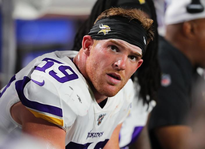 Smith, 23, said he plans to return to football after he is healed and medically cleared.