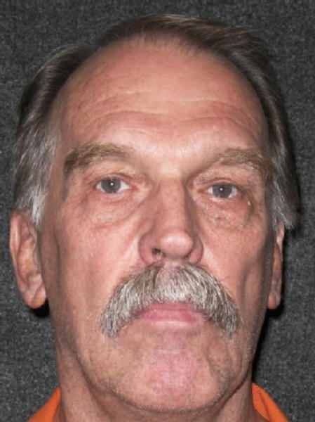 """FILE - This Oct. 24, 2011, file photo released by Utah Department of Corrections shows Utah death row inmate Ron Lafferty. A federal appeals court has denied a death-row challenge by a Utah inmate whose double-murder case was featured in the book """"Under the Banner of Heaven."""" (Utah Department of Corrections via AP, File)"""
