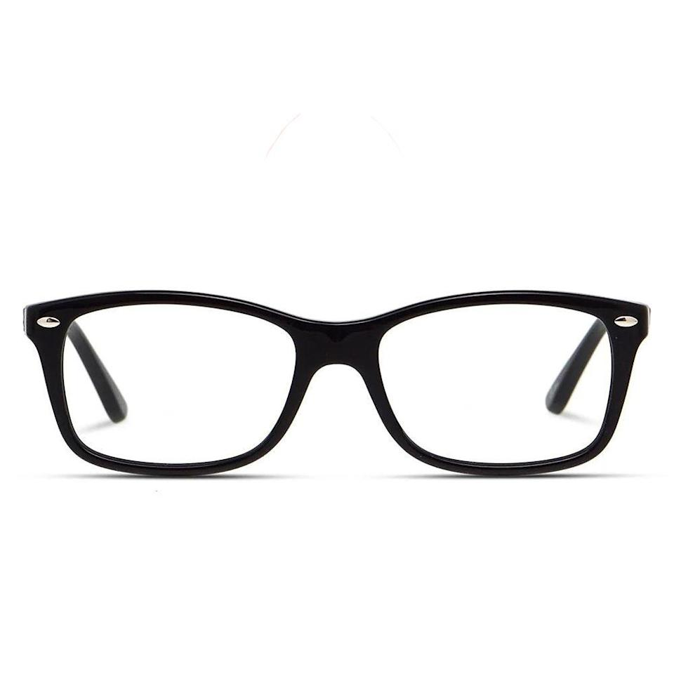 """<p><strong>Ray-Ban</strong></p><p>glassesusa.com</p><p><strong>$183.00</strong></p><p><a href=""""https://go.redirectingat.com?id=74968X1596630&url=https%3A%2F%2Fwww.glassesusa.com%2Fblack-large%2Fray-ban-5228%2F44-p3640.html&sref=https%3A%2F%2Fwww.bestproducts.com%2Fmens-style%2Fg33594937%2Fstylish-glasses-frames-for-men%2F"""" rel=""""nofollow noopener"""" target=""""_blank"""" data-ylk=""""slk:Shop Now"""" class=""""link rapid-noclick-resp"""">Shop Now</a></p><p>Ray-Ban's iconic Wayfarer frames have been given a sleeker look with these eyeglasses. They're perfect for men who crave a classic, everyday accessory that won't go out of style.</p>"""