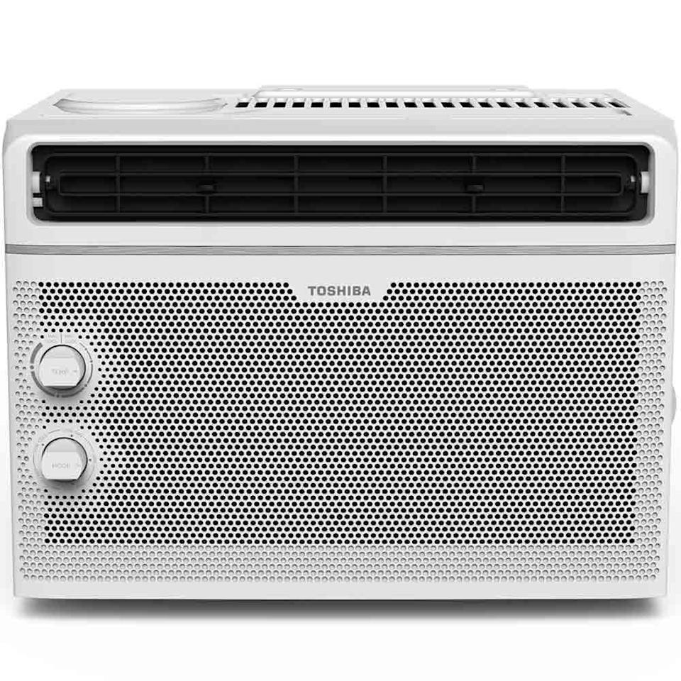 "This air conditioner has two cooling and fan speeds, an easy-to-use two-way air directions and a washable and reusable air filter. <a href=""https://fave.co/2WC5rIG"" rel=""nofollow noopener"" target=""_blank"" data-ylk=""slk:Find it for $149 at Home Depot"" class=""link rapid-noclick-resp"">Find it for $149 at Home Depot</a>."