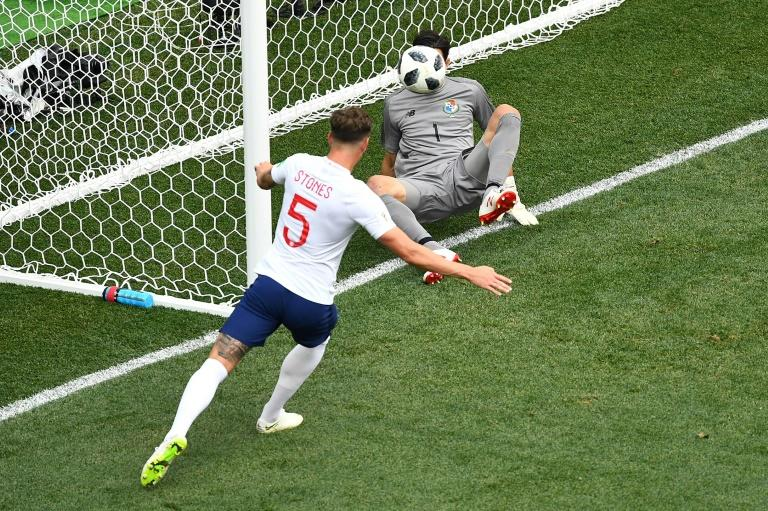 Using their heads: England have scored four goals from set-pieces in two World Cup games