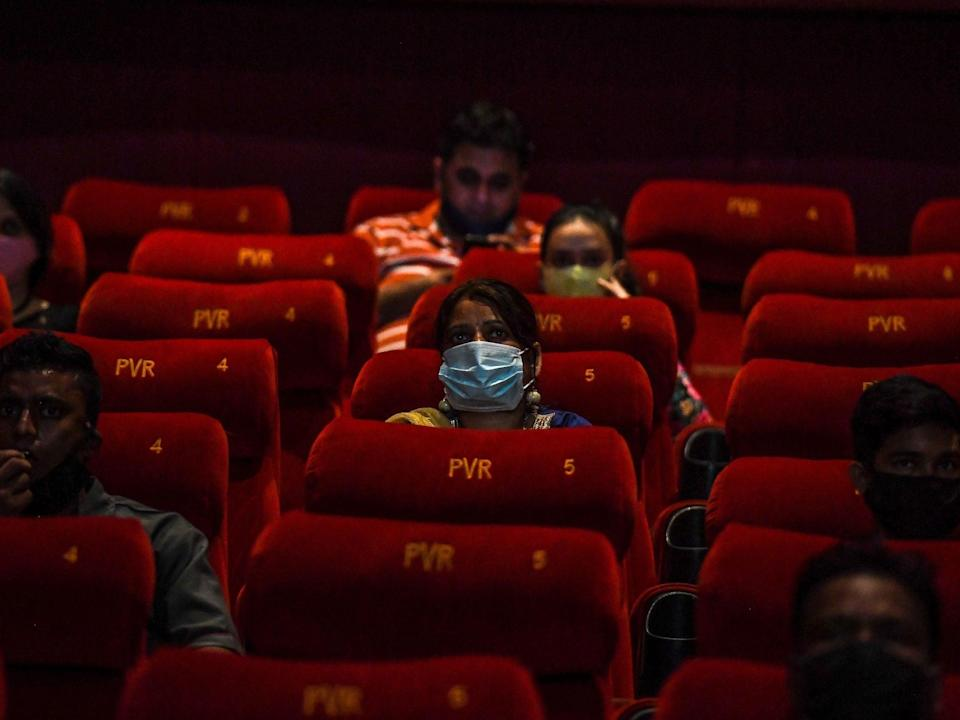 Cinema admissions are set to hit their lowest since records began (Getty)