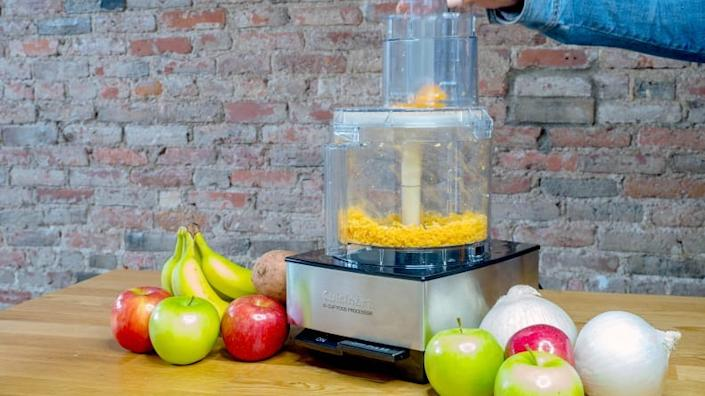 A food processor can make cooking feel more fun.