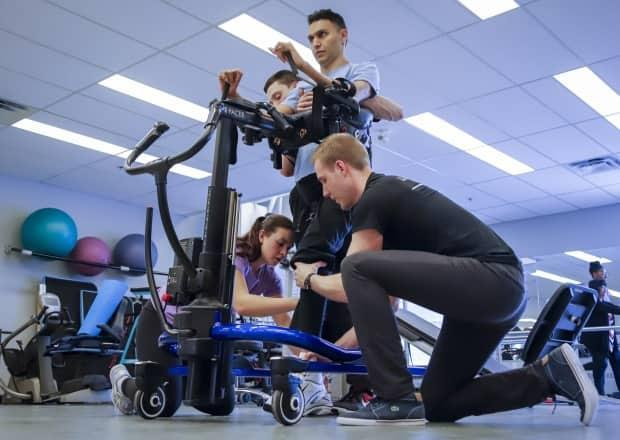 Physiotherapy graduates say their careers have been stalled by the failure of the industry's licensing body to offer a clinical exam during the COVID-19 pandemic. (Jeff McIntosh/The Canadian Press - image credit)