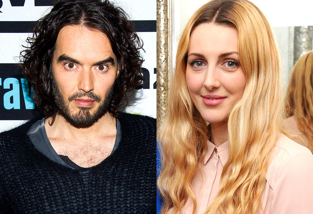 """<p>Russell Brand became a father for the first time in early November. The comedian welcomed a daughter (<a rel=""""nofollow"""" href=""""<a href="""