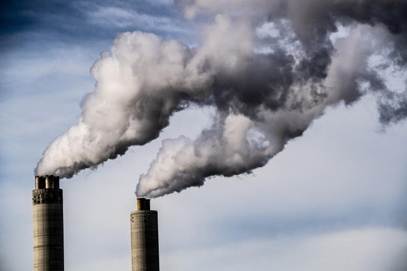 More greenhouse gases were emitted in the 28 years from 1988 to 2015 than in the 237 years from the start of the Industrial Revolution to the late 1980s. (SIPA USA / PA Images)