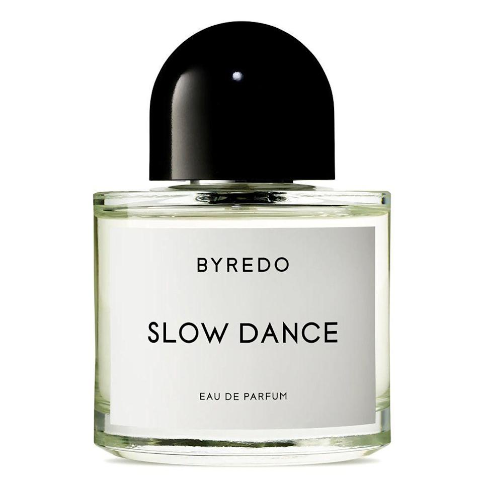 "<p><strong>BYREDO</strong></p><p>nordstrom.com</p><p><strong>$180.00</strong></p><p><a href=""https://go.redirectingat.com?id=74968X1596630&url=https%3A%2F%2Fshop.nordstrom.com%2Fs%2Fbyredo-slow-dance-eau-de-parfum%2F5369782&sref=https%3A%2F%2Fwww.bestproducts.com%2Fbeauty%2Fg34275710%2Ffall-perfumes-fragrances%2F"" rel=""nofollow noopener"" target=""_blank"" data-ylk=""slk:Shop Now"" class=""link rapid-noclick-resp"">Shop Now</a></p><p>When you think of the word ""sexy,"" what comes to mind? For us, it's the combination of violet, vanilla, and patchouli in this Byredo perfume. </p><p>Slow Dance is a fall perfume that's meant to replicate the ""evocation of memory and desire from a male perspective,"" and it embodies the true meaning of sexy: both dark and light, fiery and soft, sweet and mysterious.</p>"