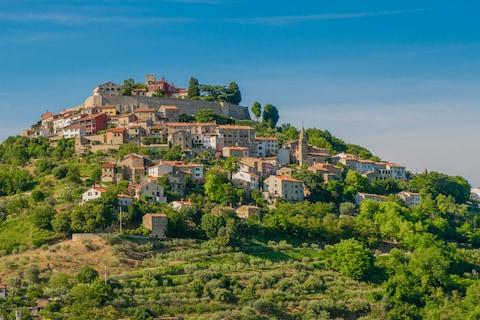 Motovun - Credit: getty