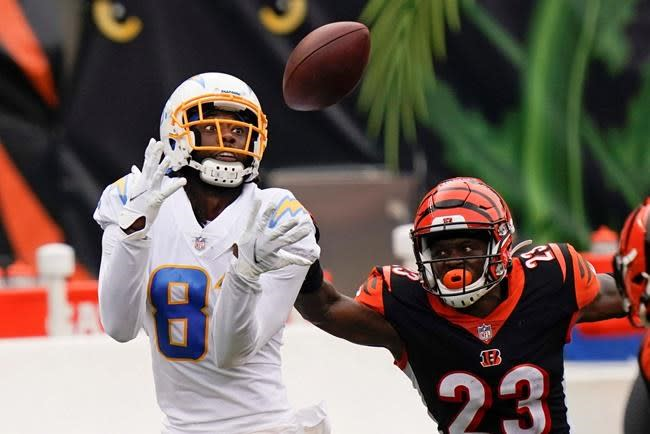 Chargers' Williams looks to continue as big-play receiver