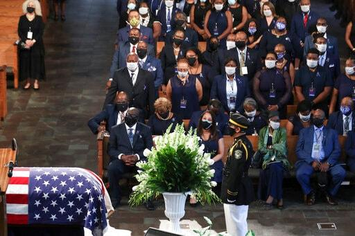 Fox News Channel viewers tune out for John Lewis' funeral