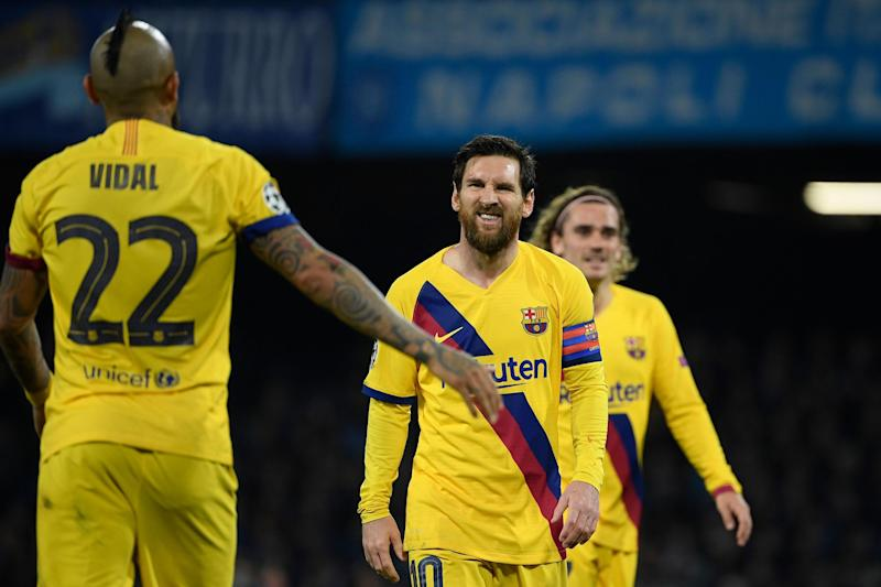 Barcelona visit the Santiago Bernabeu for a key Clasico clash on Sunday (AFP via Getty Images)