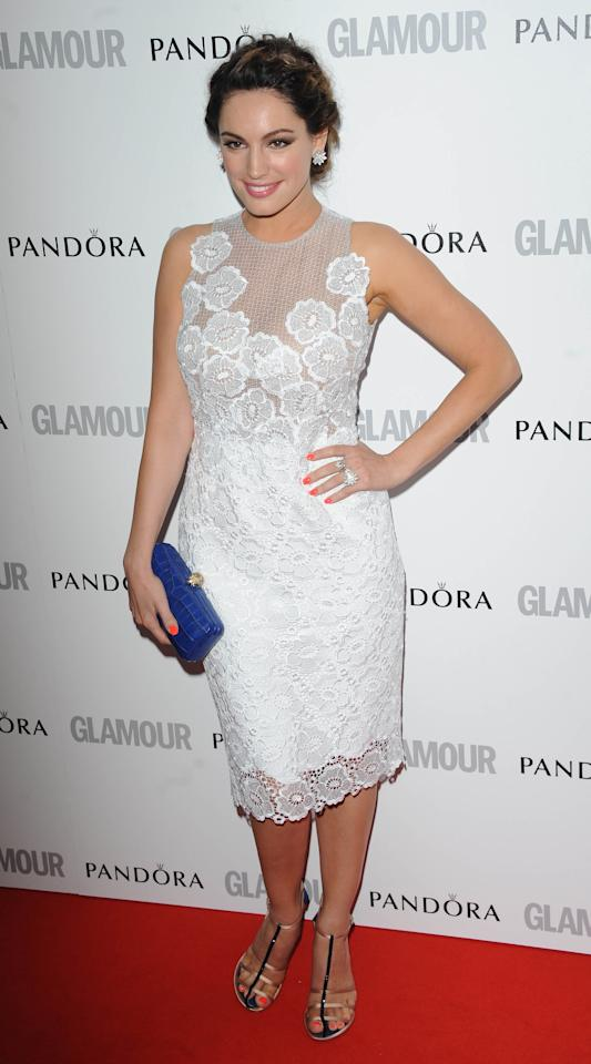 LONDON, UNITED KINGDOM - MAY 29: Kelly Brook attends Glamour Women of the Year Awards 2012 at Berkeley Square Gardens on May 29, 2012 in London, England. (Photo by Stuart Wilson/Getty Images)