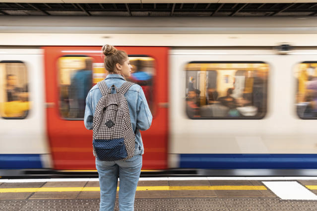 """Air pollution"" may be released from the tube's wheels and brakes. [Photo: Getty]"