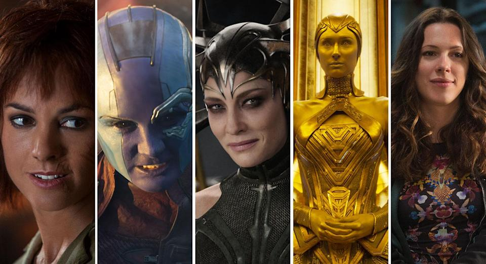 The MCU's female rogue's gallery to date (Disney/Marvel Studios)