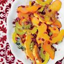 """The compound butter—flavored with dried rose petals, citrus, cinnamon, coriander, cumin, and other spices—is the star of this side dish. We love it with delicata squash, but it's also great melted over roasted veg and grains. <a href=""""https://www.epicurious.com/recipes/food/views/winter-squash-with-spiced-butter-51124260?mbid=synd_yahoo_rss"""" rel=""""nofollow noopener"""" target=""""_blank"""" data-ylk=""""slk:See recipe."""" class=""""link rapid-noclick-resp"""">See recipe.</a>"""