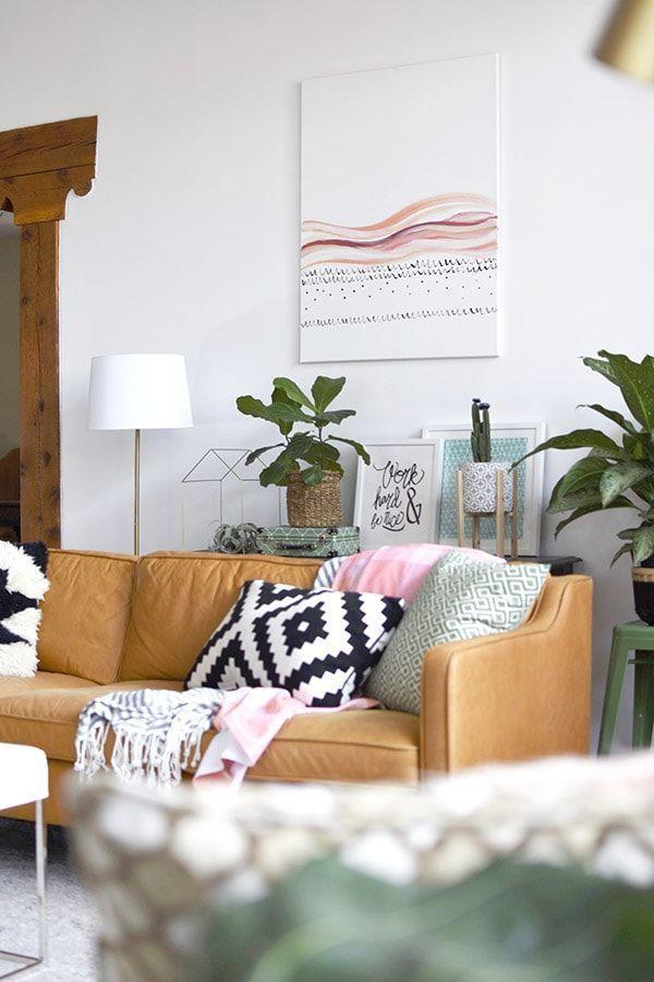 "<p>With a tutorial like this one, you really can whip up your own abstract art to display in your home, no previous painting experience required. It's sure to be a conversation starter as soon as your guests walk in the door.</p><p><strong>Get the tutorial at <a href=""https://www.delineateyourdwelling.com/diy-large-scaled-art/"" rel=""nofollow noopener"" target=""_blank"" data-ylk=""slk:Delineate Your Dwelling"" class=""link rapid-noclick-resp"">Delineate Your Dwelling</a>.</strong></p><p><a class=""link rapid-noclick-resp"" href=""https://www.amazon.com/Apple-Barrel-Acrylic-PROMOABI-Assorted/dp/B00ATJSD8I/?tag=syn-yahoo-20&ascsubtag=%5Bartid%7C10050.g.31153820%5Bsrc%7Cyahoo-us"" rel=""nofollow noopener"" target=""_blank"" data-ylk=""slk:SHOP ACRYLIC PAINT"">SHOP ACRYLIC PAINT</a></p>"