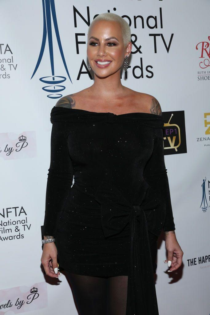"""<p>Back in 2011, Amber Rose talked up her sign in an interview with <a href=""""https://www.complex.com/pop-culture/2011/11/interview-amber-rose-talks-whipped-cream-vodka-wiz-khalifa-and-kanye-west"""" rel=""""nofollow noopener"""" target=""""_blank"""" data-ylk=""""slk:Complex"""" class=""""link rapid-noclick-resp"""">Complex</a>, saying, """"I'm a Libra. If someone compliments me, I'll say something nice to them. I like to give out compliments.""""</p>"""