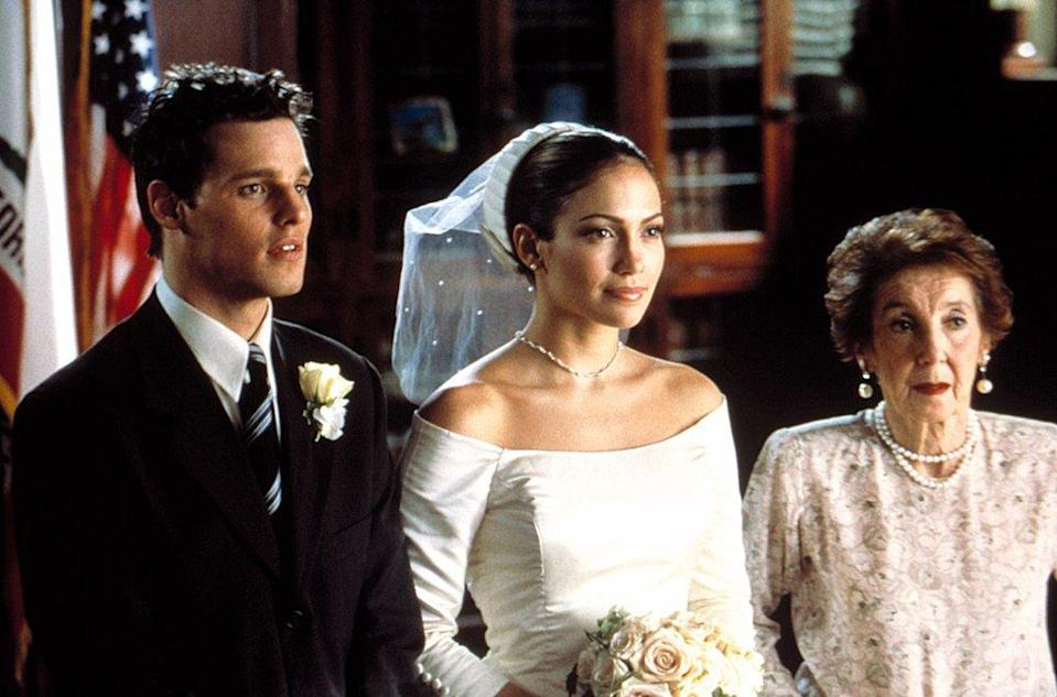Jennifer Lopez in the Wedding Planner [Photo: The Wedding Planner – Columbia Pictures]