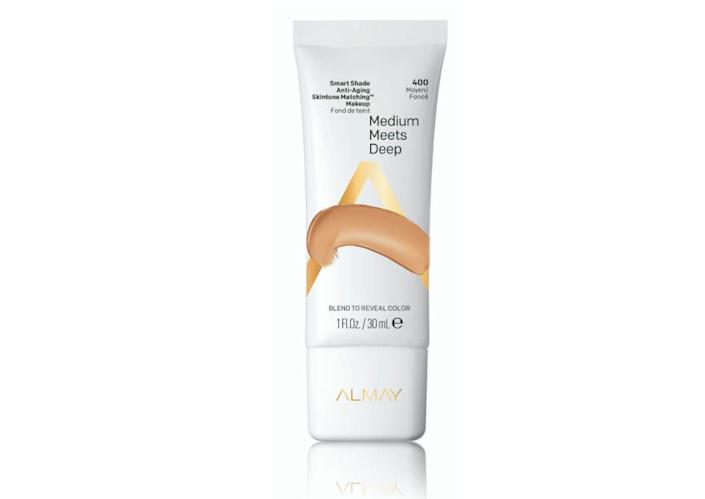 "Allawh also recommends using foundation to reduce the appearance of fine lines and wrinkles. &ldquo;My top pick is the Almay Smart Shade Anti-Aging skintone matching makeup,&rdquo; Allawh said. This foundation is cruelty free and has an SPF of 20. &ldquo;I find that the lightweight liquid formula and buildable texture is ideal for my Mediterranean skin type.&rdquo; &lt;br&gt;&lt;br&gt;<strong>Find it for $13.99 on </strong><a href=""https://www.almay.com/face/foundation/almay-smart-shade-anti-aging-skintone-matching-makeup?shade=deep%20like%20me"" rel=""nofollow noopener"" target=""_blank"" data-ylk=""slk:Almay"" class=""link rapid-noclick-resp""><strong>Almay</strong></a><strong>.</strong>"