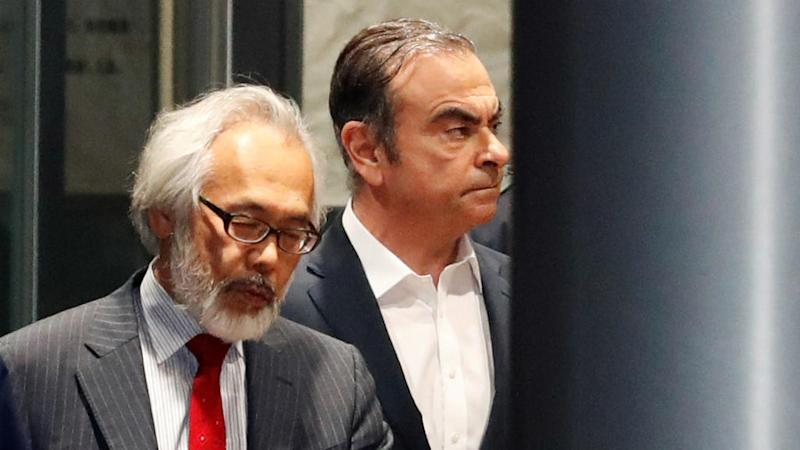 Lebanon receives Interpol arrest notice for former Nissan chief Carlos Ghosn