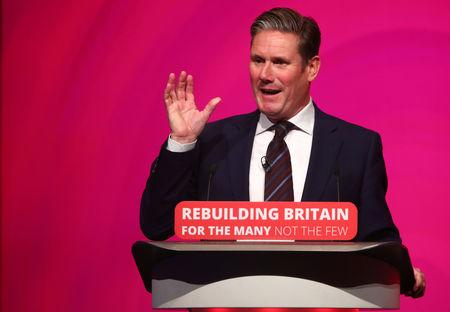 UK's Labour open to second European Union vote with option of remaining: Starmer