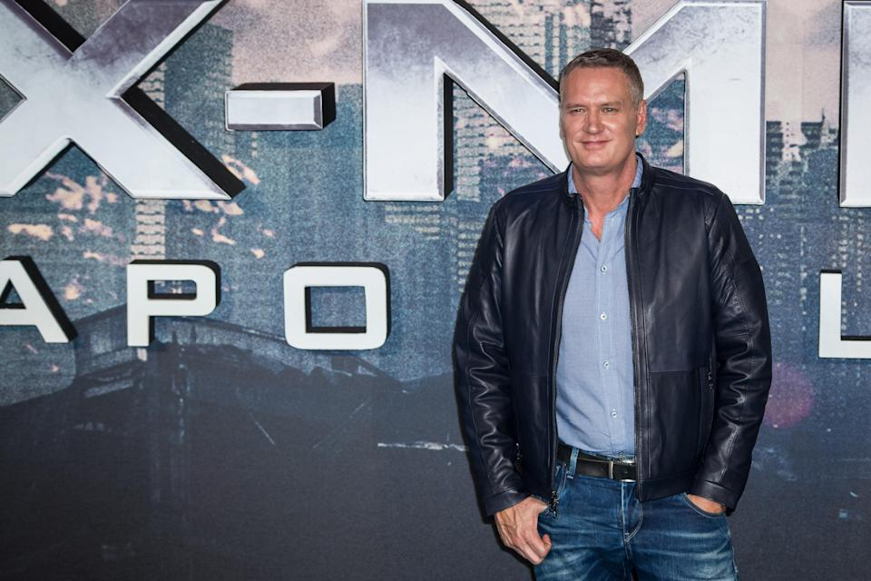 Composer John Ottman poses for photographers upon arrival at the screening of the film 'X-Men Apocalypse' in London, Monday, May 9, 2016. (Photo by Vianney Le Caer/Invision/AP)