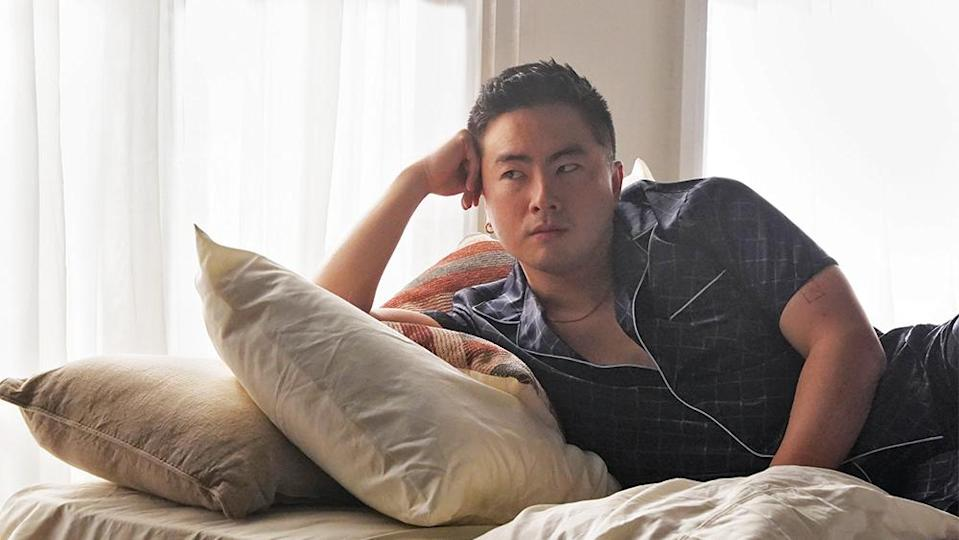 """""""Saturday Night Live"""" cast member Bowen Yang is an audience favorite for his absurdist sensibility. - Credit: Rosalind O'Connor/NBC"""