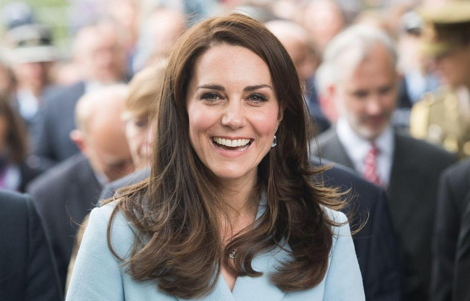 <p>The palace prefers that members of the royal family wear minimal, natural-looking makeup for public appearances. That's why you won't catch Kate rocking a red lip or bright eye shadow. </p>